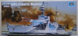 TRUMPETER 1/350 05335 HMS ROBERTS MONITOR