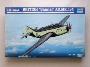 TRUMPETER 1/72 01629 FAIREY GANNET AS Mk.1/4