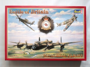 REVELL  4350 BATTLE OF BRITAIN MEMORIAL SET - LANCASTER Mk.I SPITFIRE HURRICANE