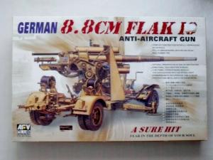 AFV CLUB 1/35 35088 88mm FLAK 18 ANTI-AIRCRAFT GUN