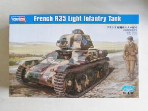 HOBBYBOSS 1/35 83806 FRENCH R35 LIGHT INFANTRY TANK