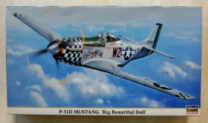 HASEGAWA 1/48 09480 P-51D MUSTANG BIG BEAUTIFUL DOLL