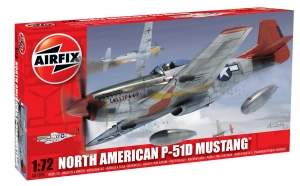 AIRFIX 1/72 01004 NORTH AMERICAN P-51D MUSTANG