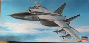 HASEGAWA 1/72 DT6 MiG-25 FOXBAT