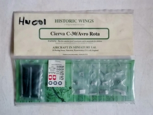 HISTORIC WINGS 1/72 CIERVA C-30/AVRO ROTA