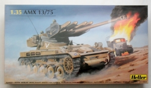 HELLER 1/35 81122 AMX 13/75  WITH MISSILES