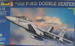 REVELL 1/72 04354 McDONNELL DOUGLAS F-15D DOUBLE SEATER