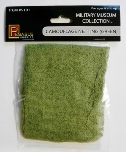 PEGASUS HOBBIES  5191 CAMOUFLAGE NETTING  GREEN