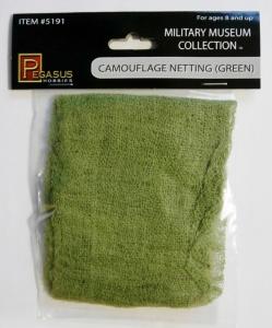 PEGASUS HOBBIES  5191 CAMOUFLAGE NETTING  GREEN