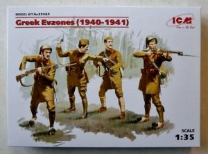 ICM 1/35 35562 GREEK EVZONES  1940-1941