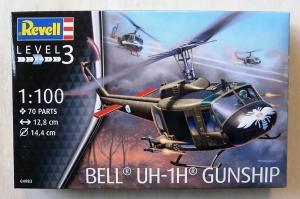 REVELL 1/100 04983 BELL UH-1H GUNSHIP