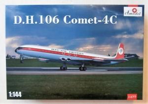 A MODEL 1/144 1477 D.H.106 COMET 4C