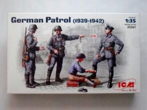 ICM 1/35 35561 GERMAN PATROL 1939-42