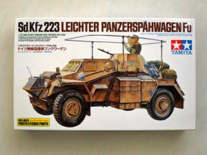 TAMIYA 1/35 35268 Sd.Kfz 223 WITH PHOTO ETCH