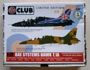 AIRFIX 1/72 73000 BAE SYSTEMS HAWK T.1A