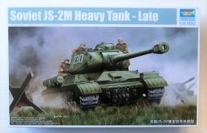 TRUMPETER 1/35 05590 SOVIET JS-2M HEAVY TANK LATE