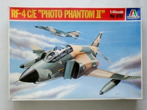 ITALERI 1/48 810 RF-4B/C/E PHOTO PHANTOM II