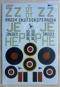 XTRADECAL 1/24 24002 HAWKER TYPHOON Mk.Ib CAR DOOR