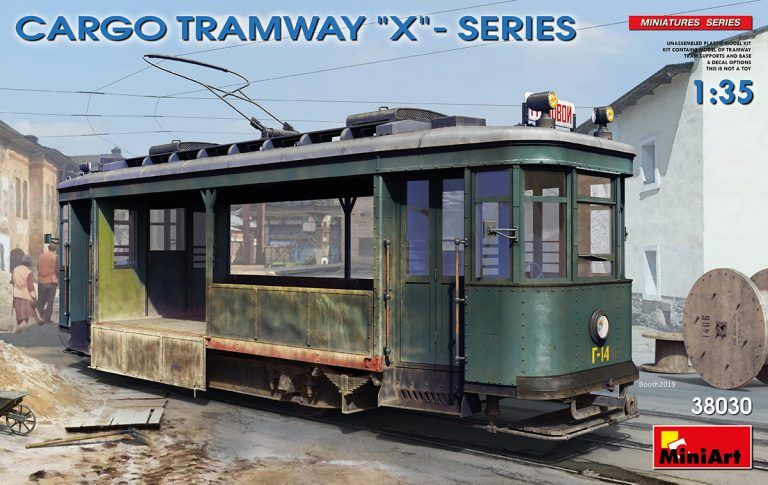 MINIART 1/35 38030 CARGO TRAMWAY X - SERIES