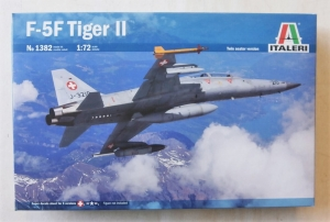 ITALERI 1/72 1382 F-5F TIGER II TWIN SEATER