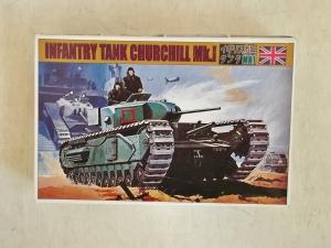 SCIENCE TREASURY 1/72 03 CHURCHILL Mk.I