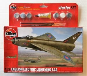 AIRFIX 1/72 55305 ENGLISH ELECTRIC LIGHTNING F.2A