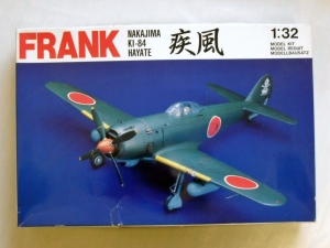 SWALLOW 1/32 3203 FRANK NAKAJIMA Ki-84 HAYATE