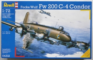 REVELL 1/72 04312 FOCKE-WULF Fw 200 C-4 CONDOR