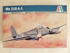 ITALERI 1/72 077 MESSERSCHMITT Me 210 A1