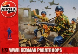 AIRFIX 1/72 01753 WWII GERMAN PARATROOPS