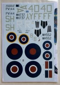 XTRADECAL 1/32 32020 SUPERMARINE SPITFIRE Mk.IX