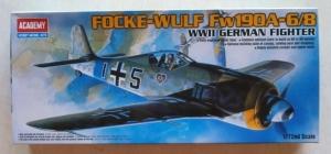 ACADEMY 1/72 12480 FOCKE-WULF Fw 190A-6/8
