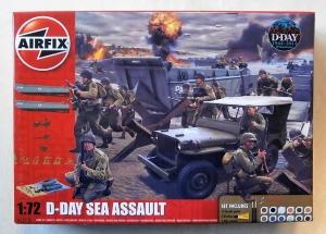 AIRFIX 1/72 50156A D-DAY SEA ASSAULT SET