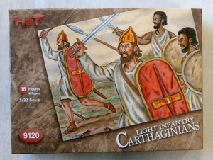 HAT INDUSTRIES 1/32 9120 AFRICAN LIGHT INFANTRY CARTHAGINIANS