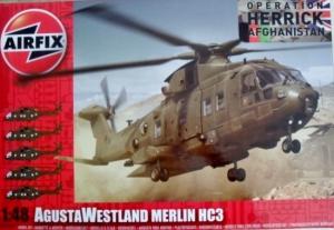 AIRFIX 1/48 14101 AGUSTA WESTLAND MERLIN HC3