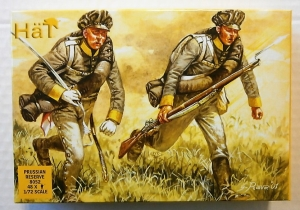 HAT INDUSTRIES 1/72 8052 PRUSSIAN RESERVE INFANTRY