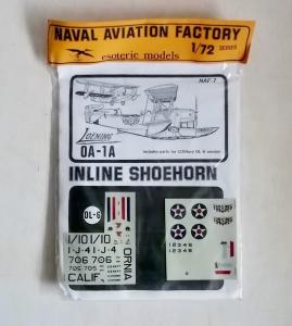 ESOTERIC 1/72 NAF-7 LOENIG OA-1A INLINE SHOEHORN