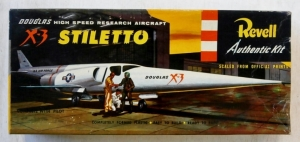 REVELL  H-192 X-3 STILETTO UK ISSUE S TYPE BOX