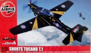 AIRFIX 1/72 03059 SHORTS TUCANO T.1  BLACK