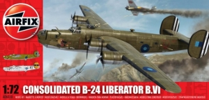 AIRFIX 1/72 06010 CONSOLIDATED B-24 LIBERATOR B.VI