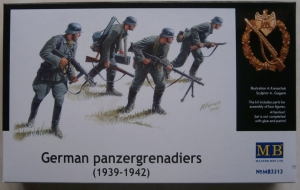 MASTERBOX 1/35 3513 GERMAN PANZERGRENADIERS 1939-42