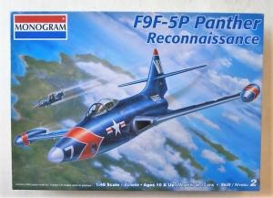 MONOGRAM 1/48 5497 F9F-5P PANTHER RECONNAISSANCE