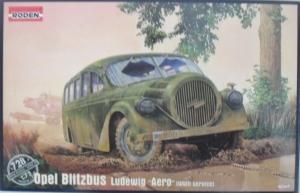 RODEN 1/72 728 OPEL BLITZBUS LUDEWIG AERO WWII
