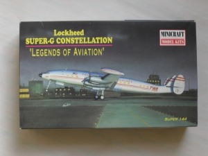 MINICRAFT 1/144 14443 SUPER G CONSTELLATION TWA