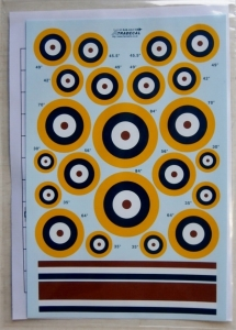 XTRADECAL 1/48 48032 RAF ROUNDELS TYPE A1
