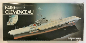HELLER 1/400 81000 CLEMENCEAU  UK SALE ONLY
