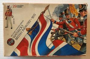 AIRFIX 1/32 51461 WATERLOO BRITISH INFANTRY 1815