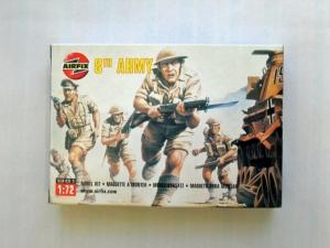 AIRFIX 1/72 01709 WWII BRITISH 8th ARMY