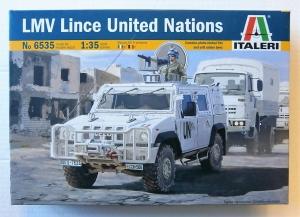 ITALERI 1/35 6535 LMV LINCE UNITED NATIONS