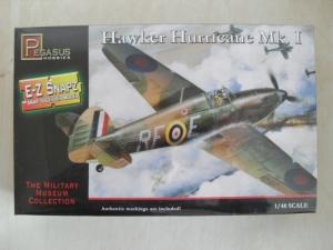 PEGASUS HOBBIES 1/48 8411 HAWKER HURRICANE Mk.I